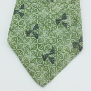 Givenchy Green Patterned Tie